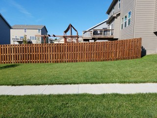 Fence Staining