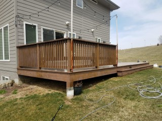 Deck Staining Before